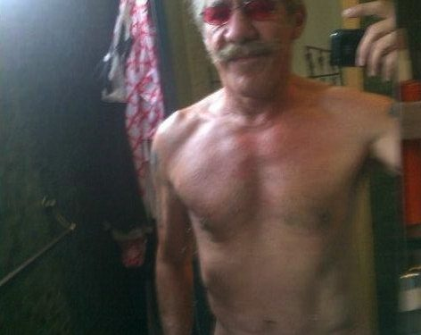 Geraldo Rivera Shirtless