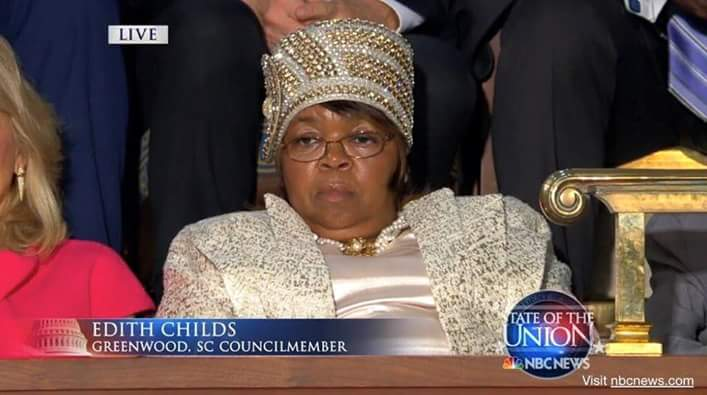 Edith Childs SOTU