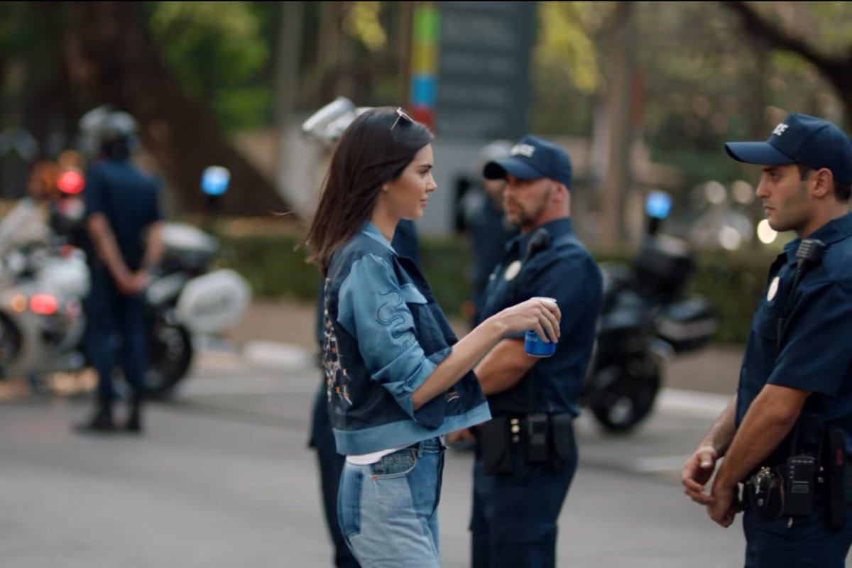 Kendall Jenner Pepsi ad 3