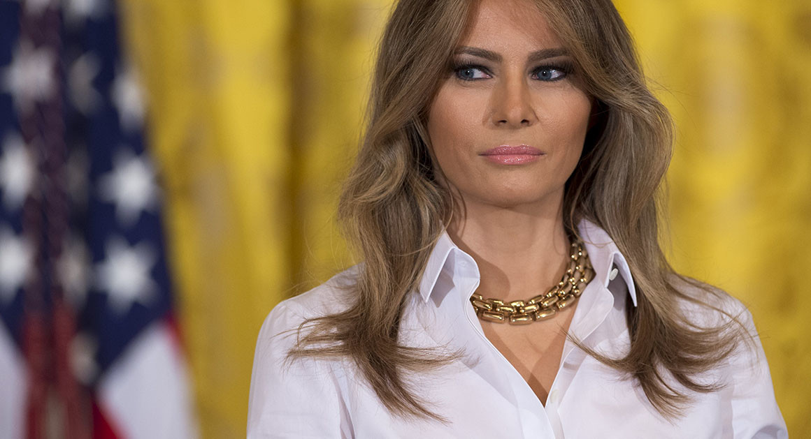 Is Melania Trump Getting Federally-Funded Side Peen?