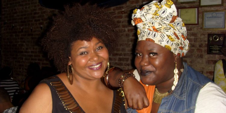 Patrice (Afrobella) and Angel (ConcreteLoop)