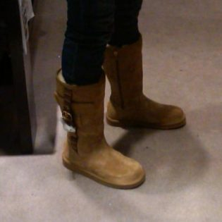 Luvvie's UGG boots
