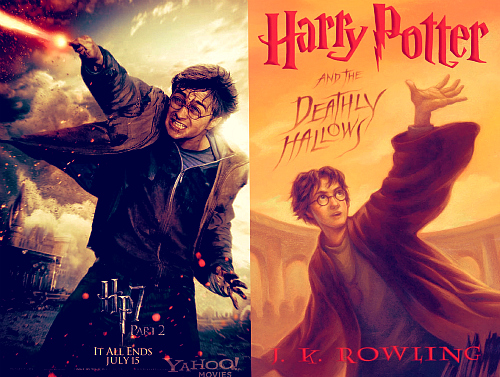 Harry Potter and the Deathly Hallows Book Movie