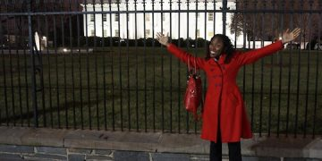 Luvvie at White House 2