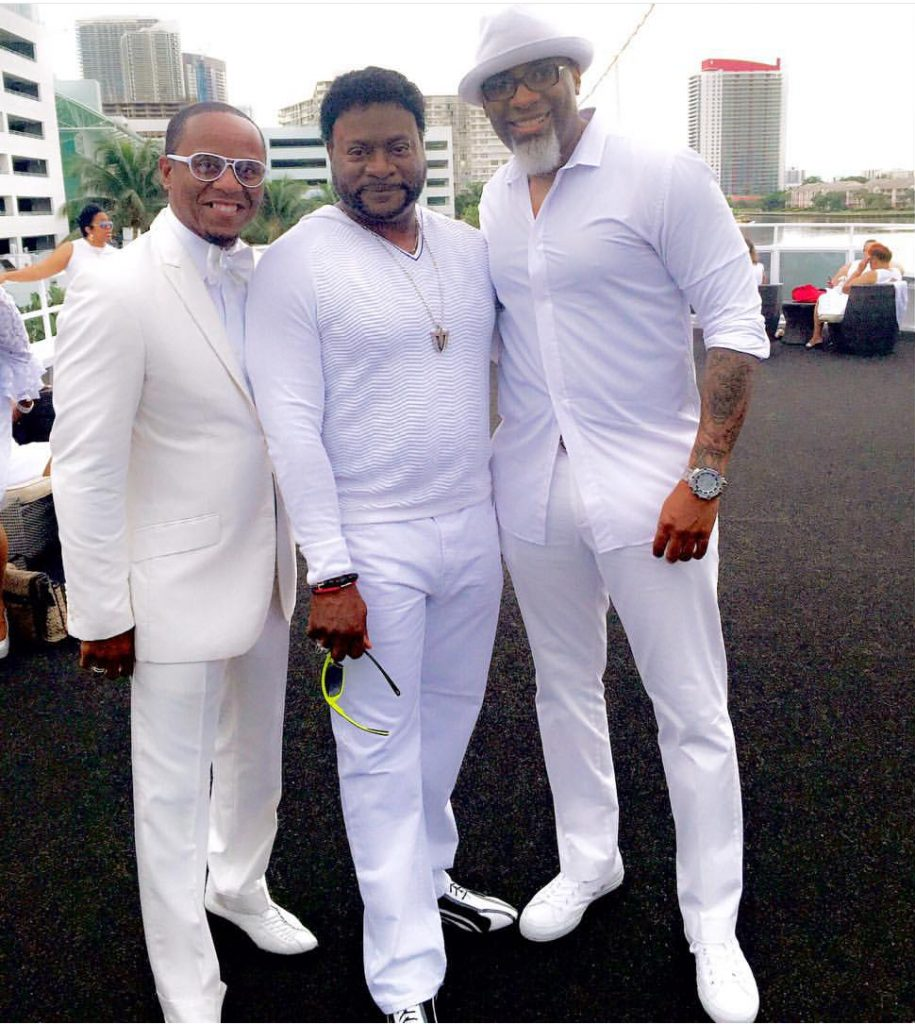Eddie Long All White Party And Youth Ministry Clothes An