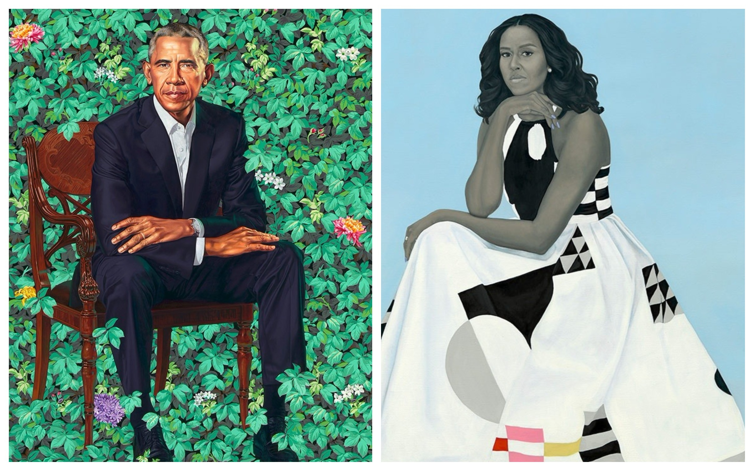 Let's Talk About the Official Obama Portraits | Awesomely Luvvie