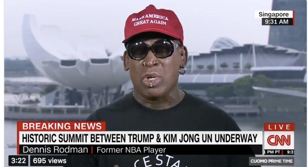 Dennis Rodman MAGA